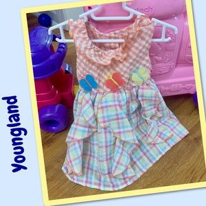 Youngland Dresses - 💞2 for $10💞Youngland ruffle dress 12M